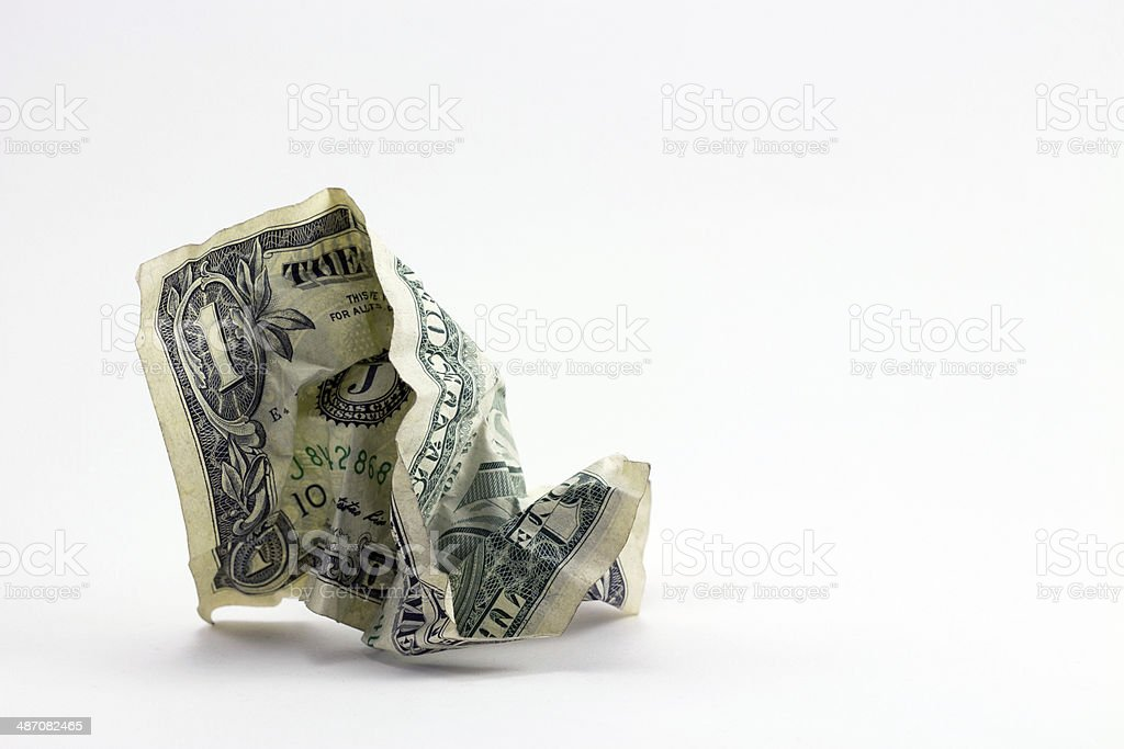 Don't Waste Money stock photo