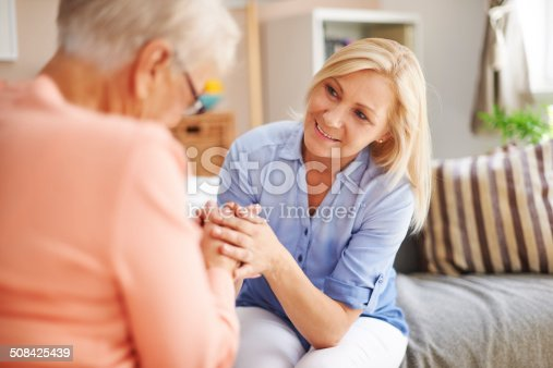 istock Don't worry mom, you can always count on me 508425439