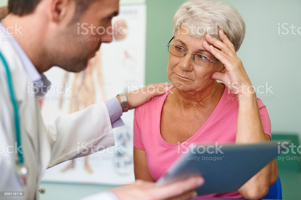 Don't worry, this medical test isn't so bad stock photo