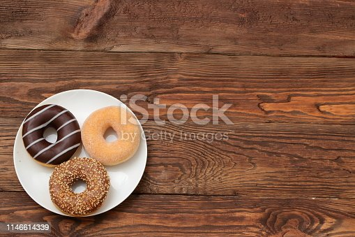 Donut is the most-bought sweet cookie in many countries around the world. They occur in so many types and decorations that it is difficult to count them. Despite the sweet pleasure, you must remember about the diet because frequent consumption can lead to obesity, diabetes and many other diseases.