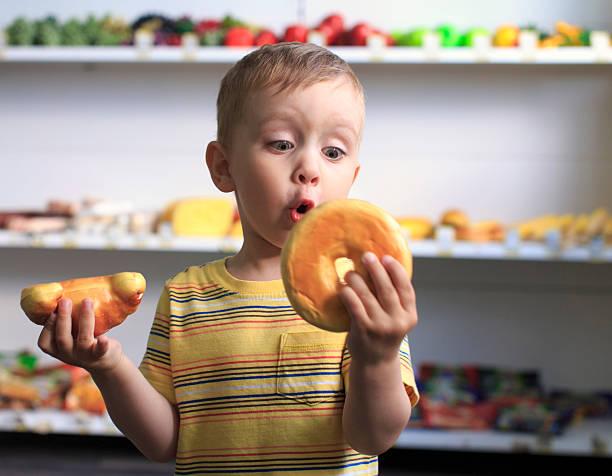 donut oder croissant – Foto