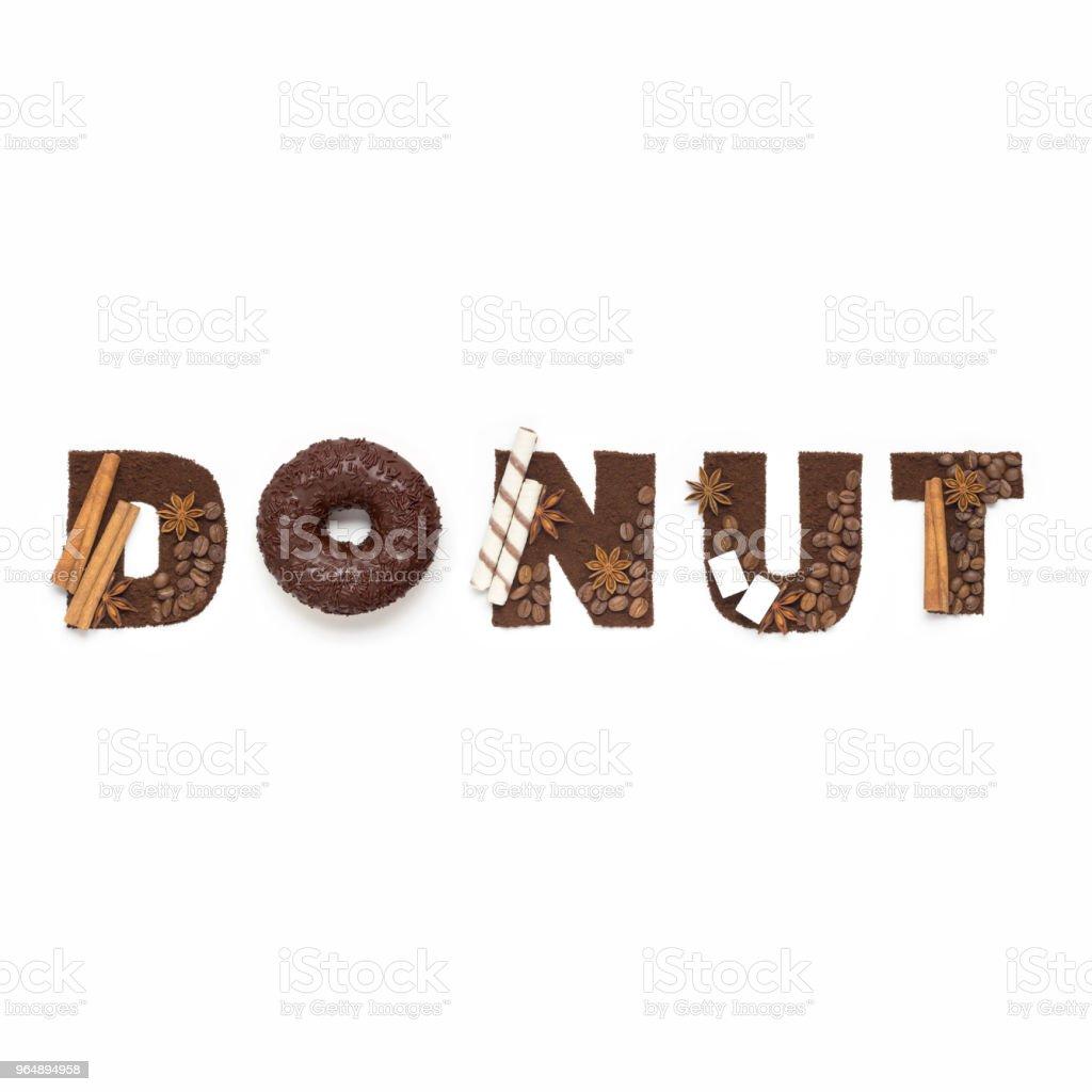 Donut. royalty-free stock photo