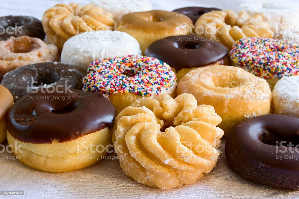 donuts - an assortment royalty-free stock photo