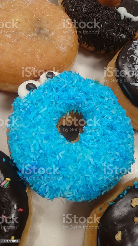 Donuts colors stock photo