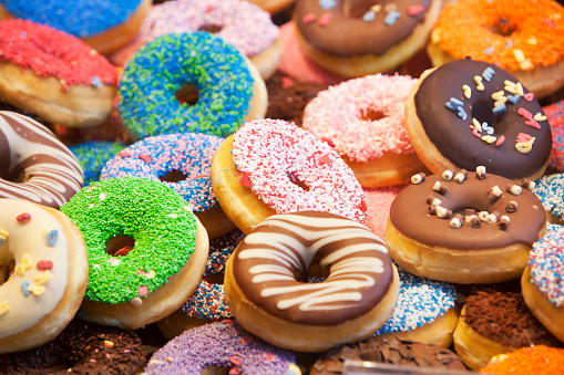 Donuts Stock Photo - Download Image Now