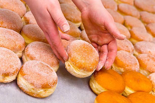 Donuts Sweetening stock photo