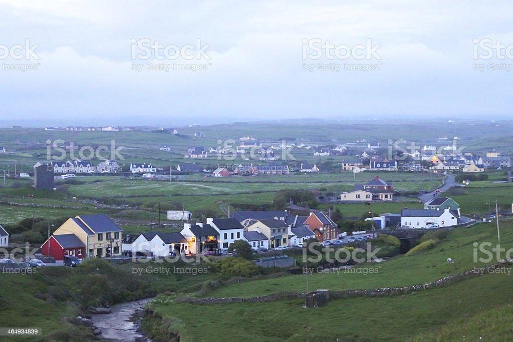 Doolin, Ireland stock photo