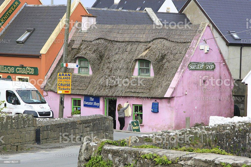 Doolin, Ireland royalty-free stock photo