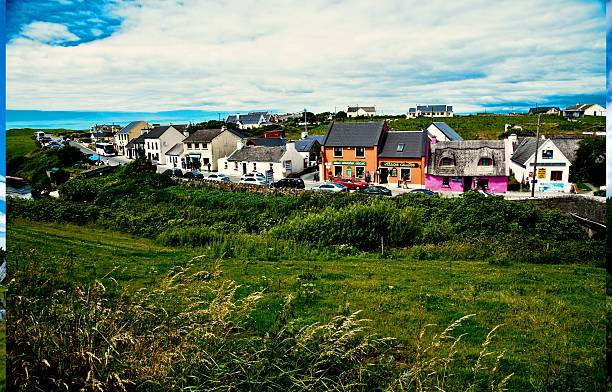 doolin - county clare stock pictures, royalty-free photos & images