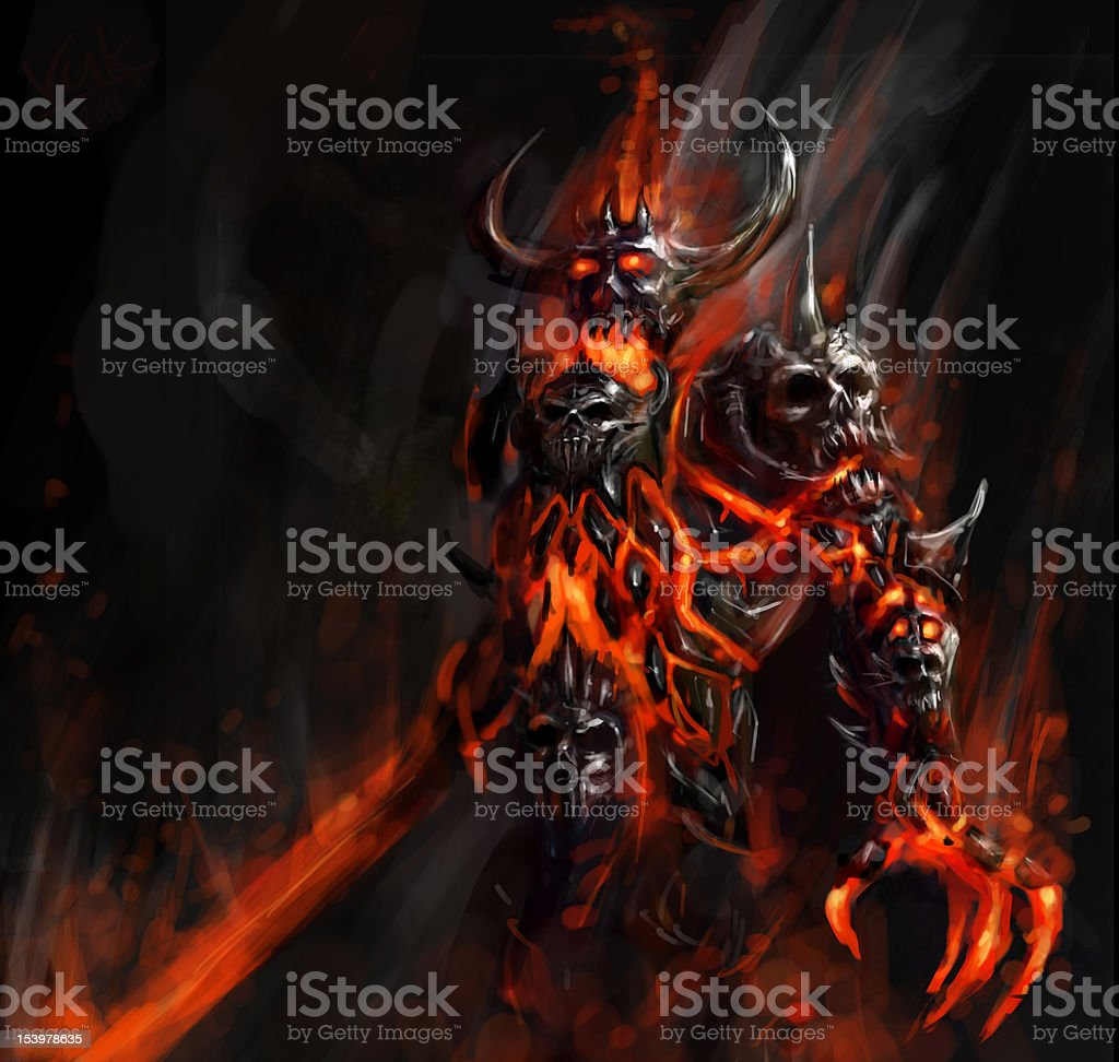 doom bringer stock photo