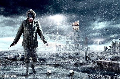 istock Doomsday Apocalypse Scenario 1152710986