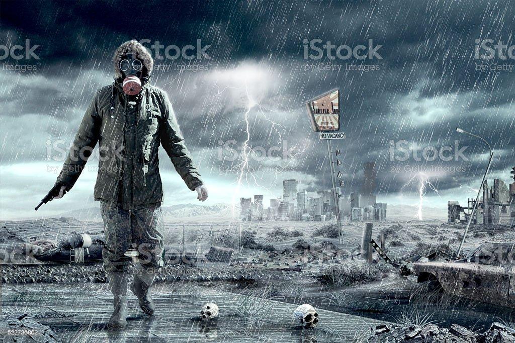 Doomsday Apocalypse Scenario stock photo