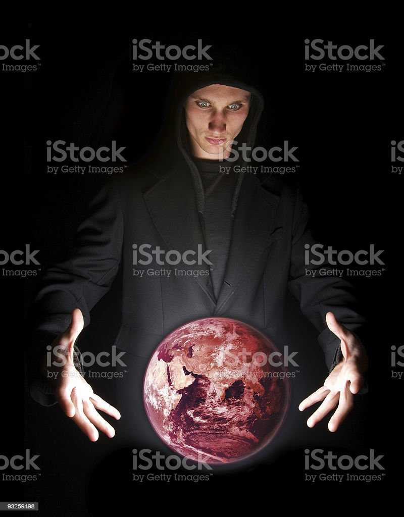 Doomsday royalty-free stock photo