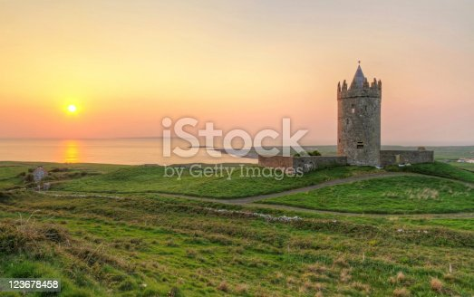 istock Doonagore castle at sunset 123678458