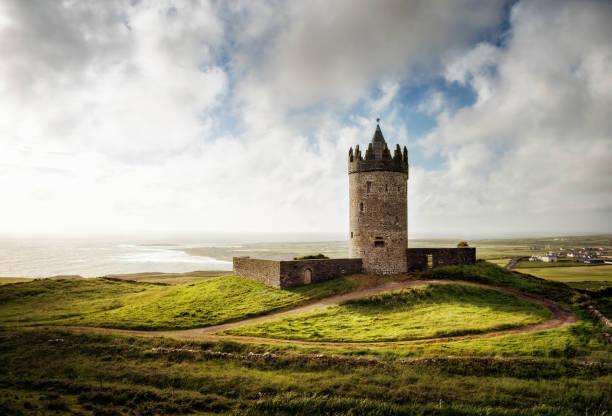 Doonagore Castle Ireland stock photo