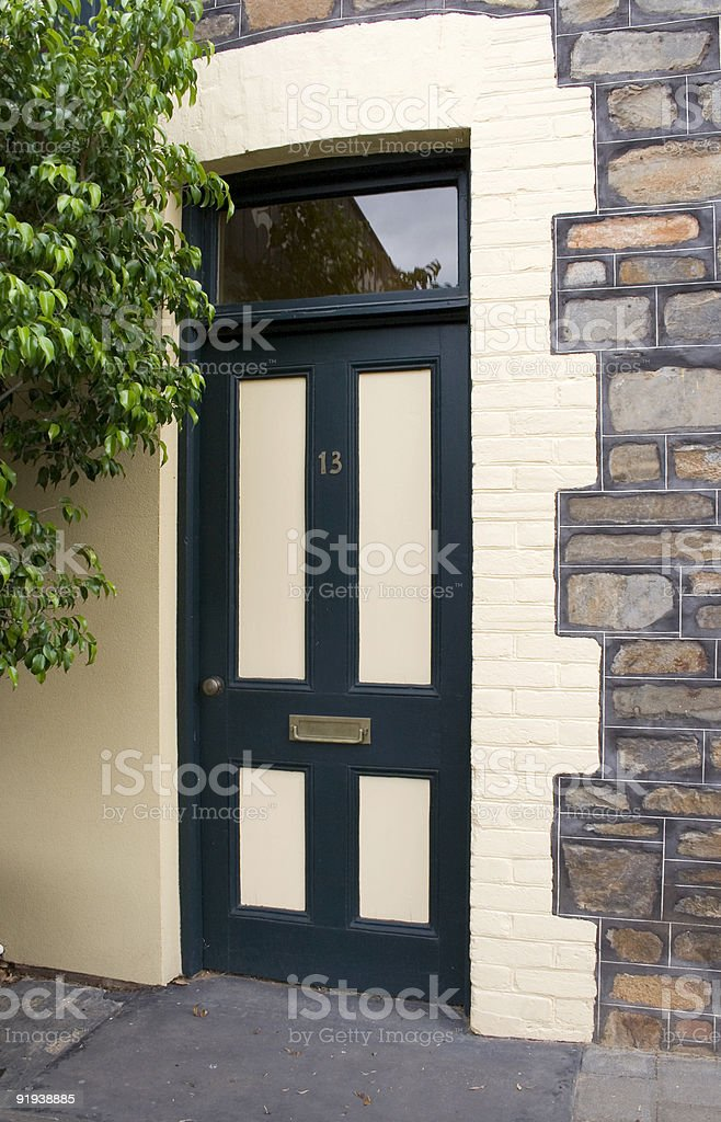 Door 13 royalty-free stock photo