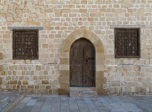 Door and windows, Courtyard of the Citadel of Alexandria