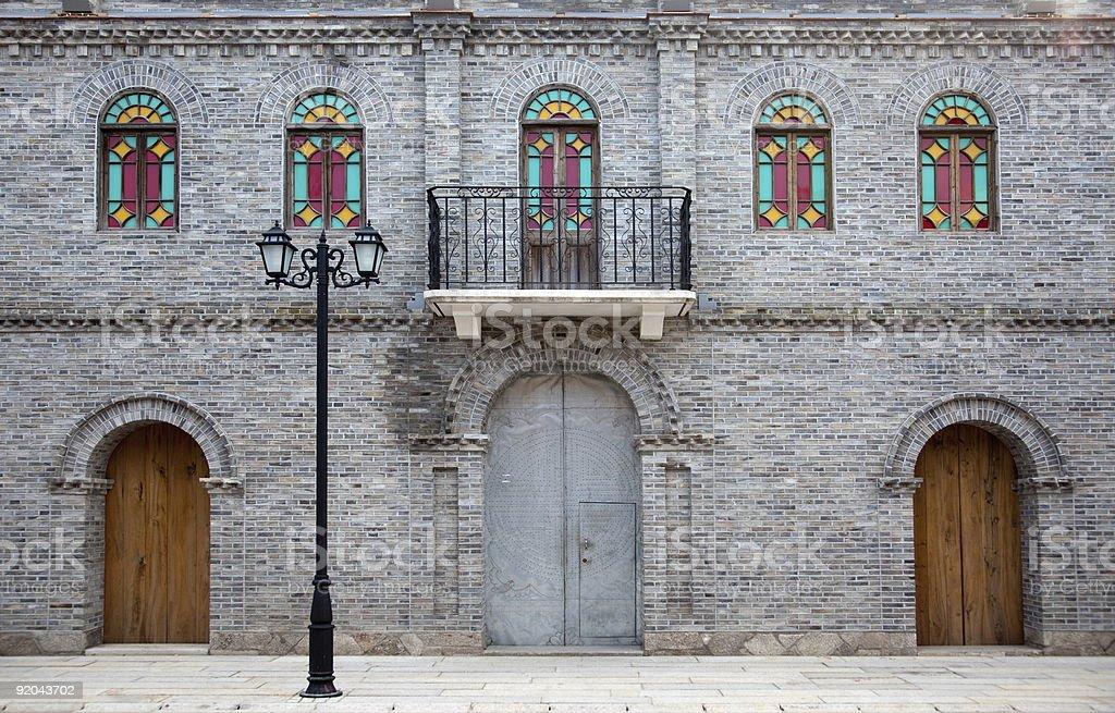 Door and windows royalty-free stock photo