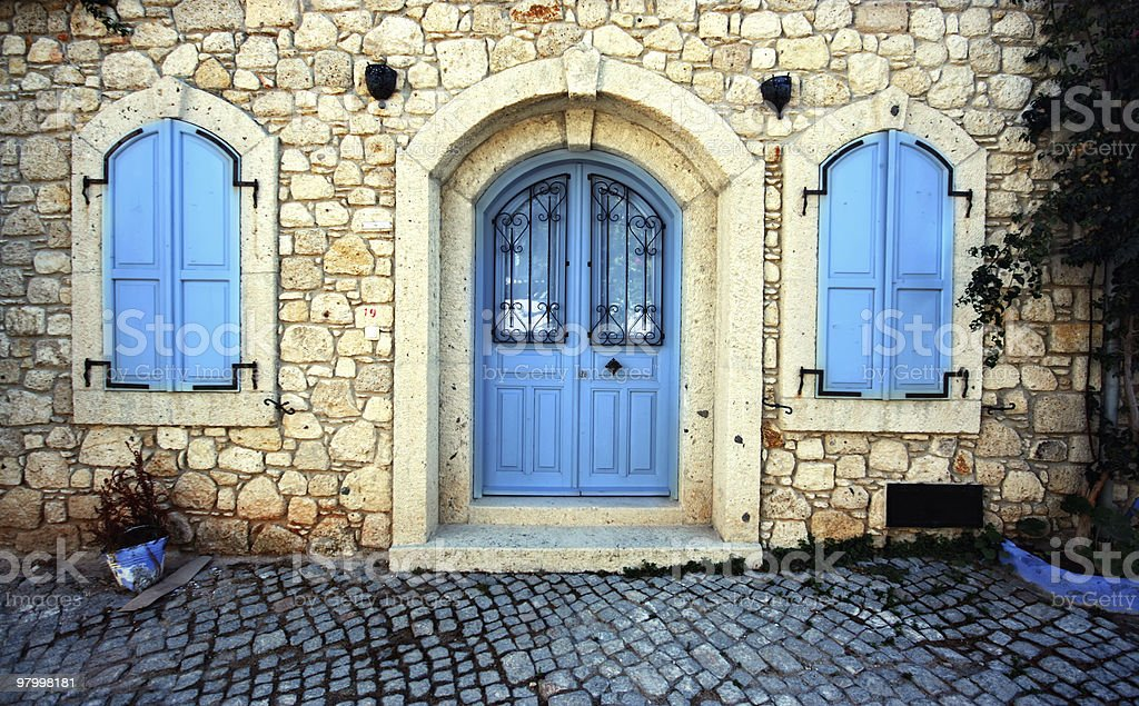 Door and Windows royalty-free stock photo