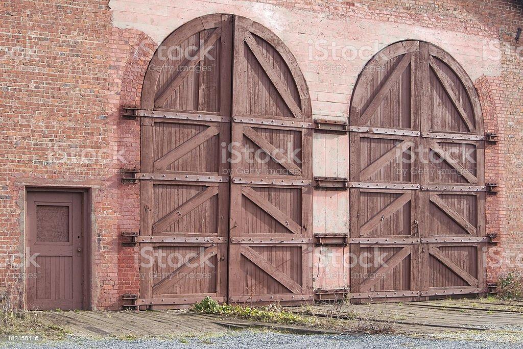 Puerta en puerta foto de stock libre de derechos