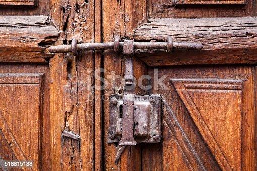 1178501072istockphoto Door closed on the lock 518815138