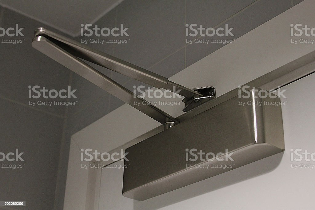 Door Closer stock photo