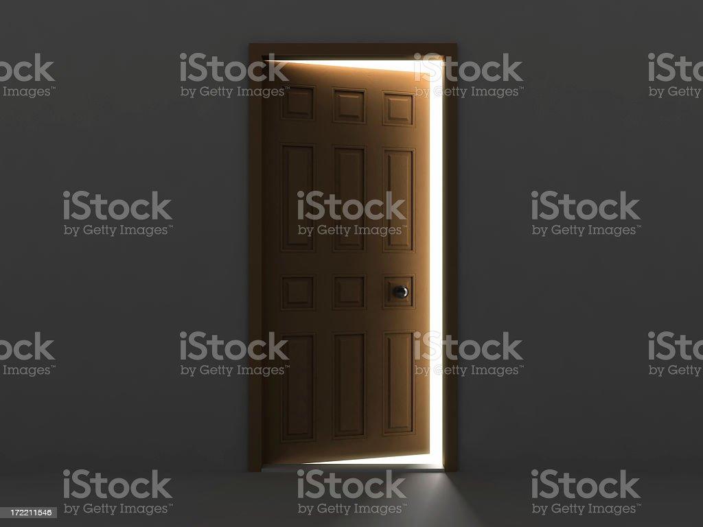 Door Concept V stock photo