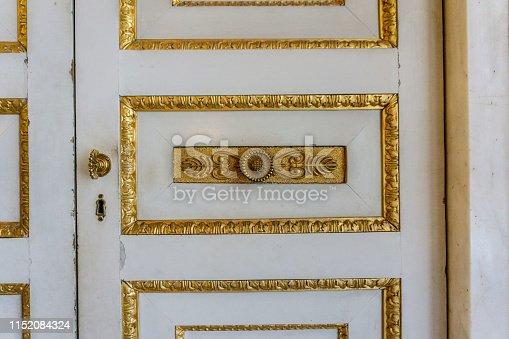 Door detail of old house