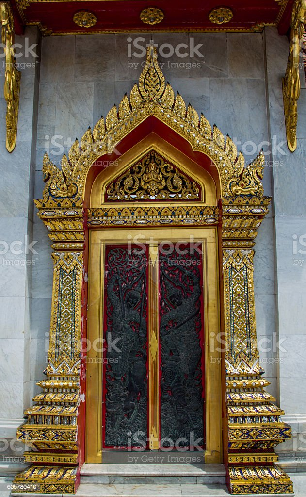 door facade stock photo