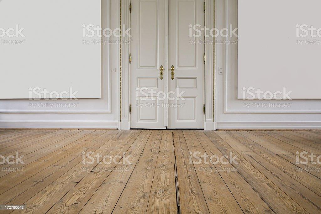 Door, floor, wall royalty-free stock photo