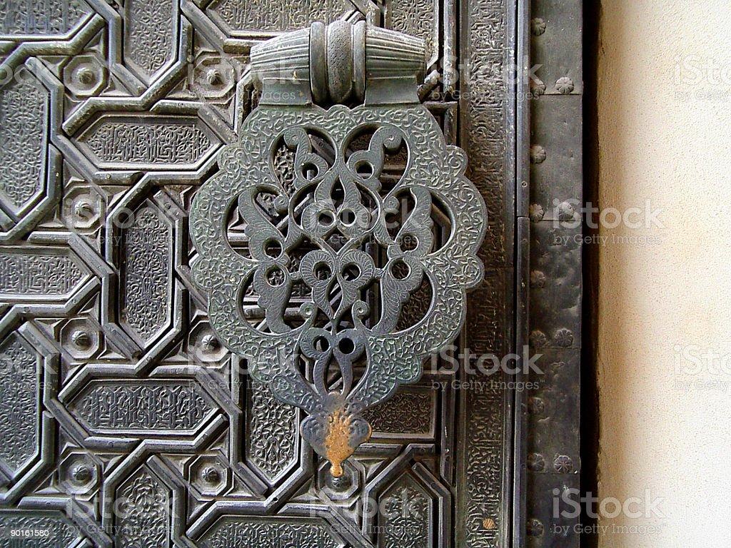 Door Fragment royalty-free stock photo