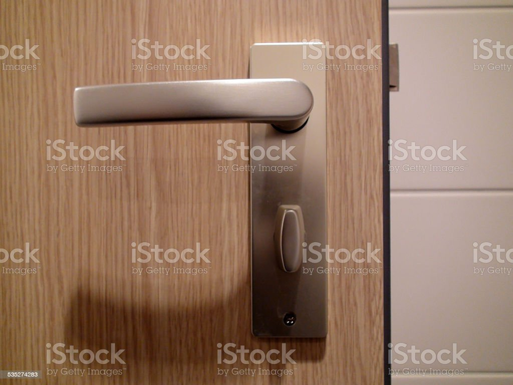Door handle‏ stock photo