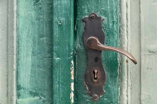 Door Handle Stock Photo - Download Image Now