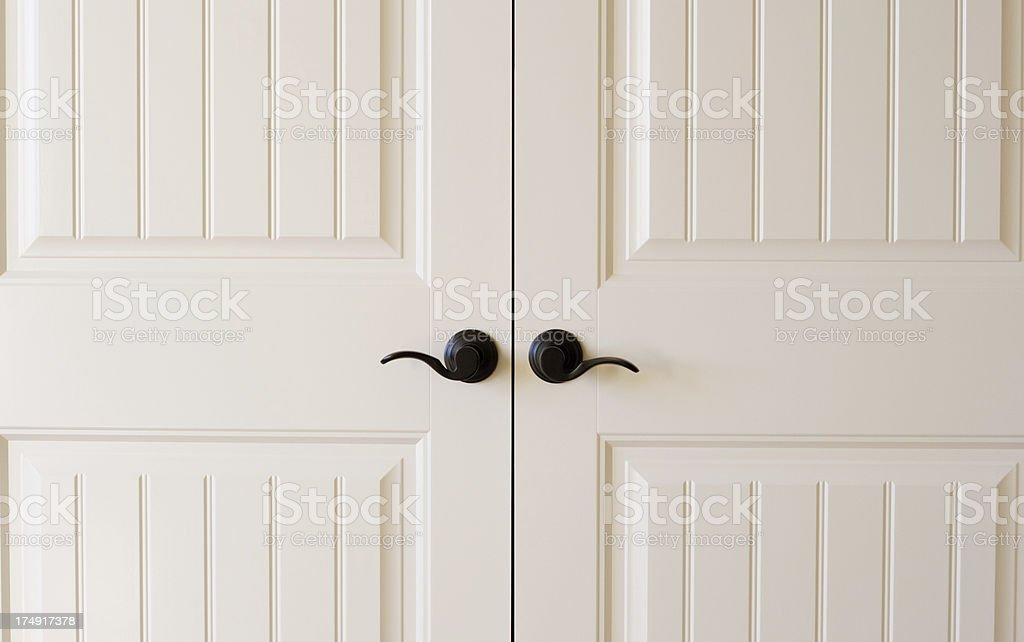 Door Handles stock photo