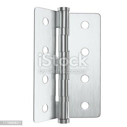 istock Door hinge 1178969021