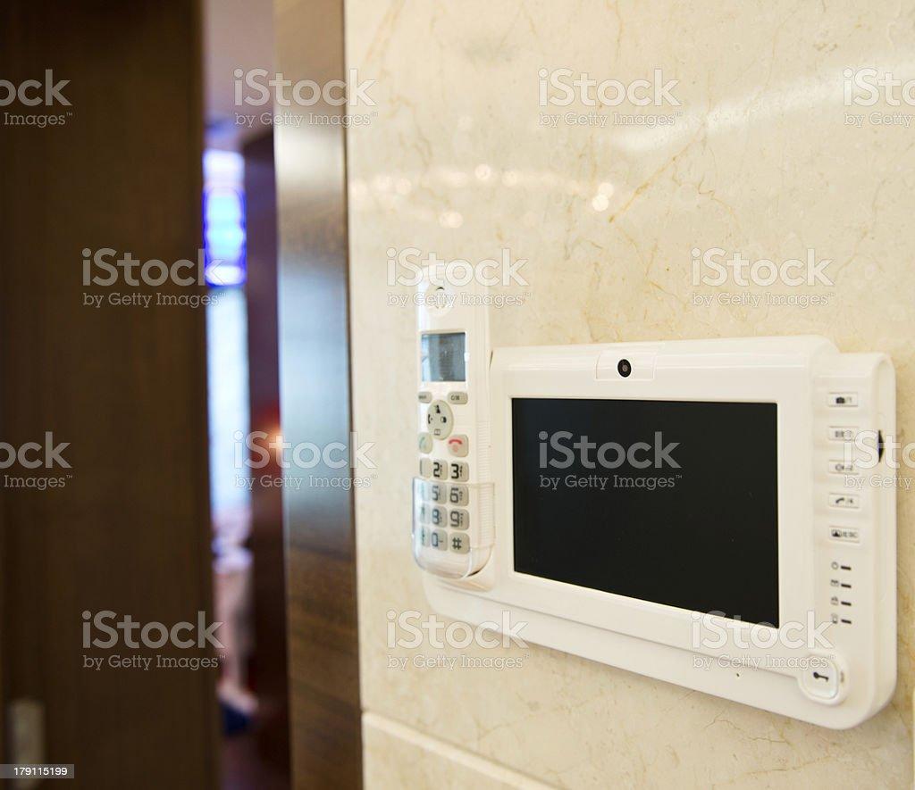 Door Intercom royalty-free stock photo