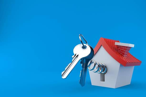 작은 집 도어 키 - home 뉴스 사진 이미지