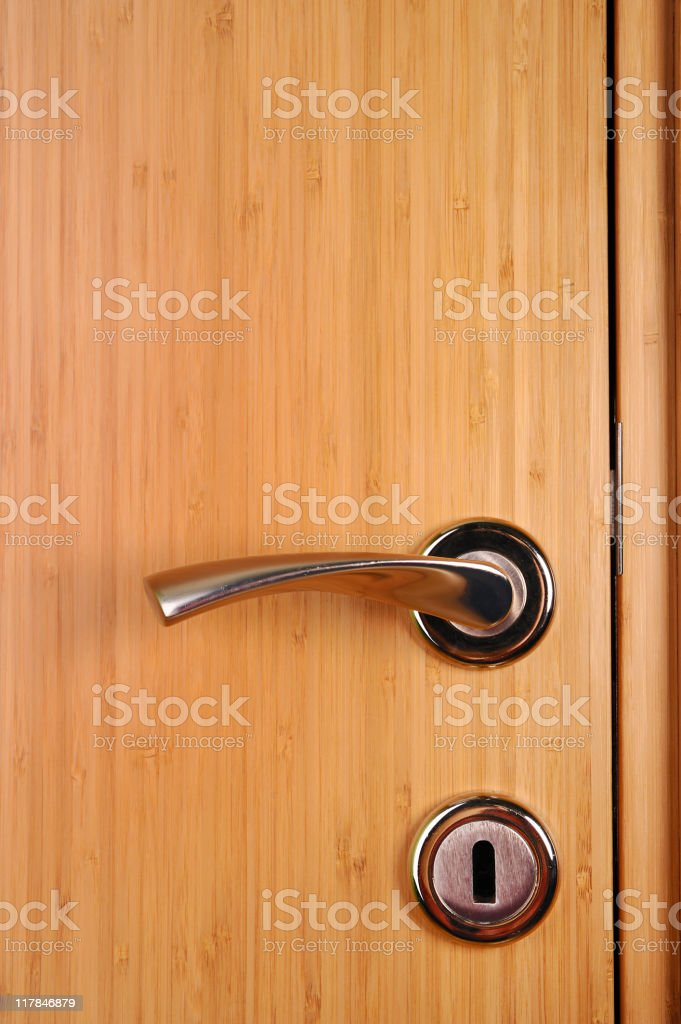 Door knob royalty-free stock photo