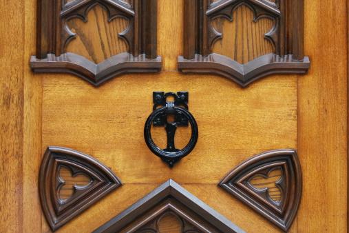 Door Knocker Stock Photo - Download Image Now