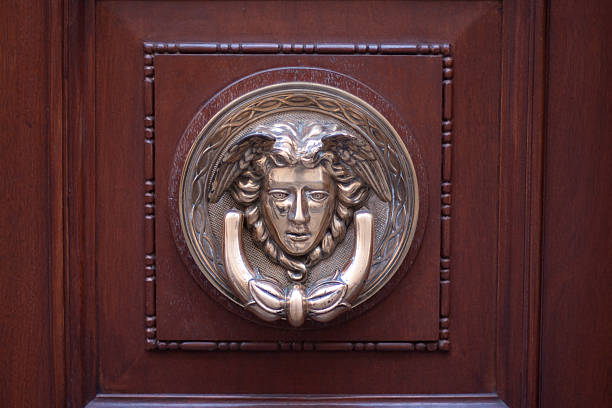 door knocker  mayfair stock pictures, royalty-free photos & images