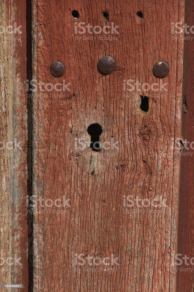 Door Lock - Cerradura de Puerta royalty-free stock photo