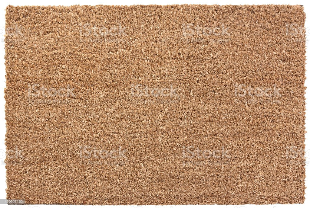Door Mat stock photo