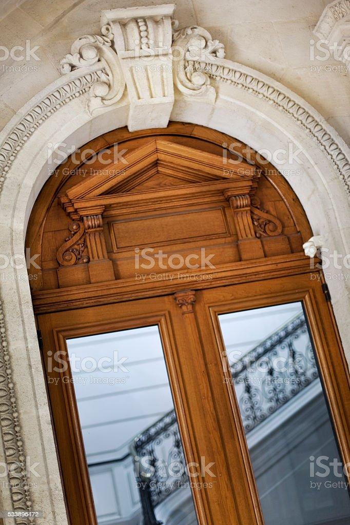 Porte de la maison française - Photo