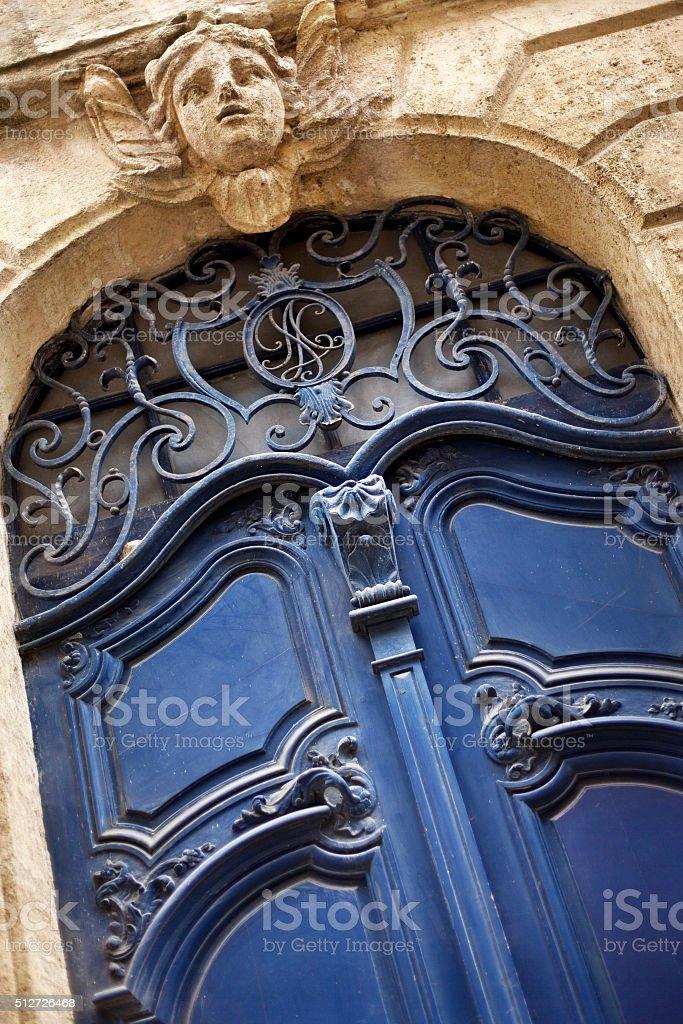 Porte d'une résidence - Photo