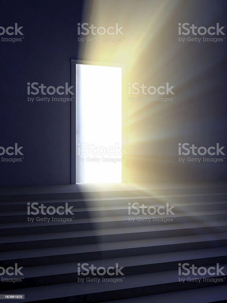 door of hope stock photo