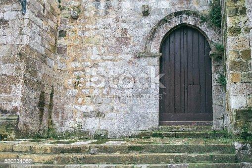 istock Door of the church 520234082