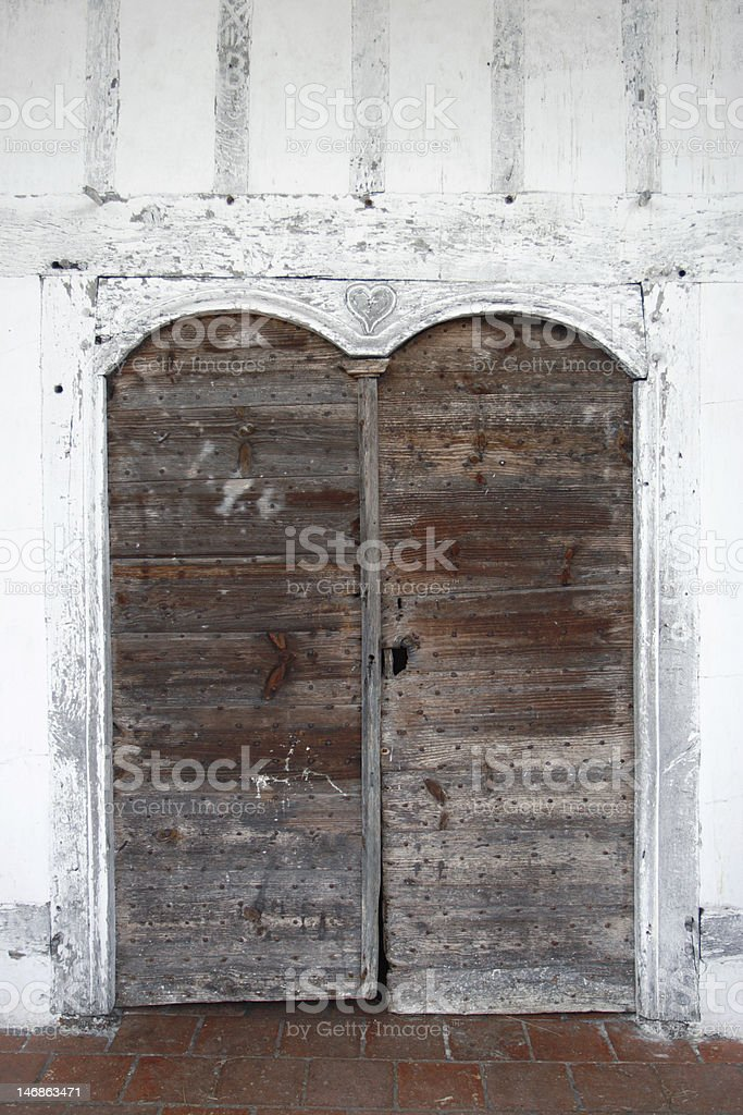 Door of the love royalty-free stock photo