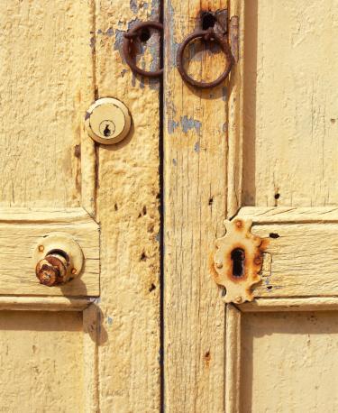 Door of wood