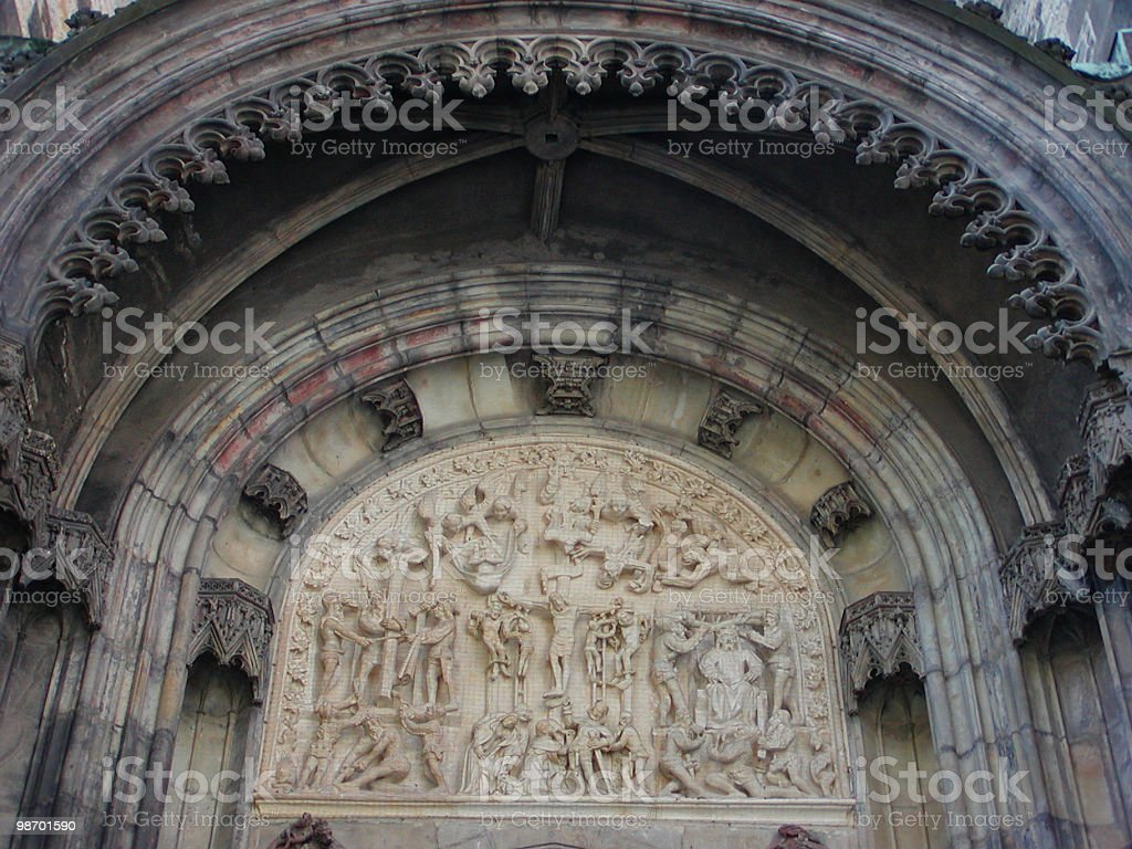 Door Ornamentation royalty-free stock photo