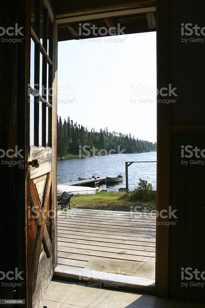 Door out royalty-free stock photo